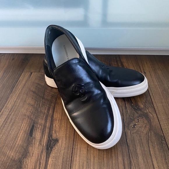 Authentic Alexander McQueen Skull Sneakers, 41